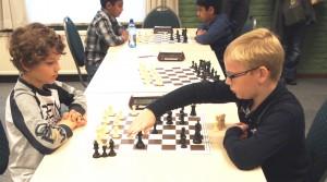 Koen en Arpit in de voorronde van de Brabantse PK