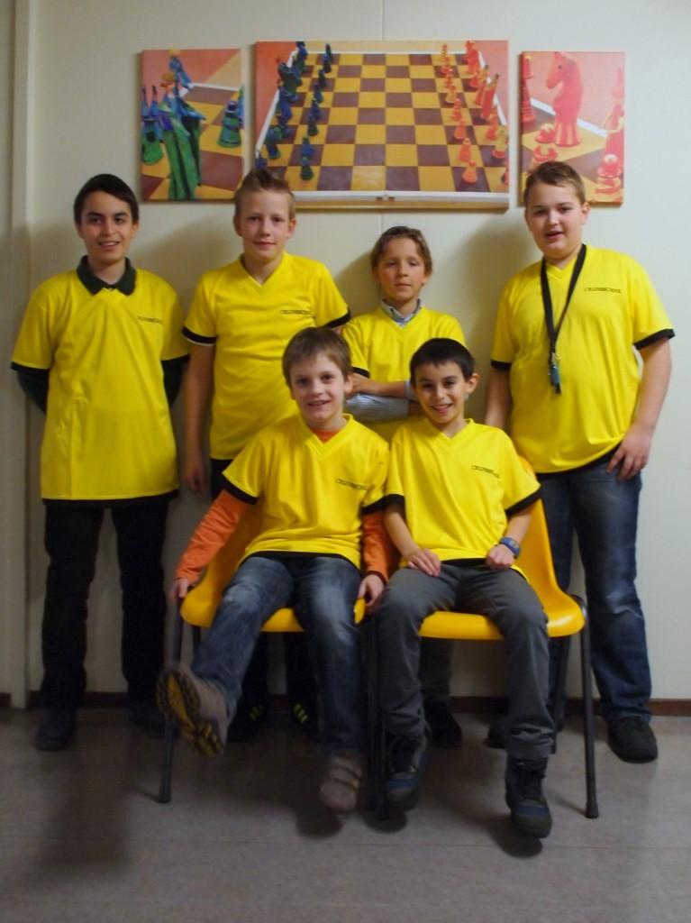 Deelnemend team in 2012